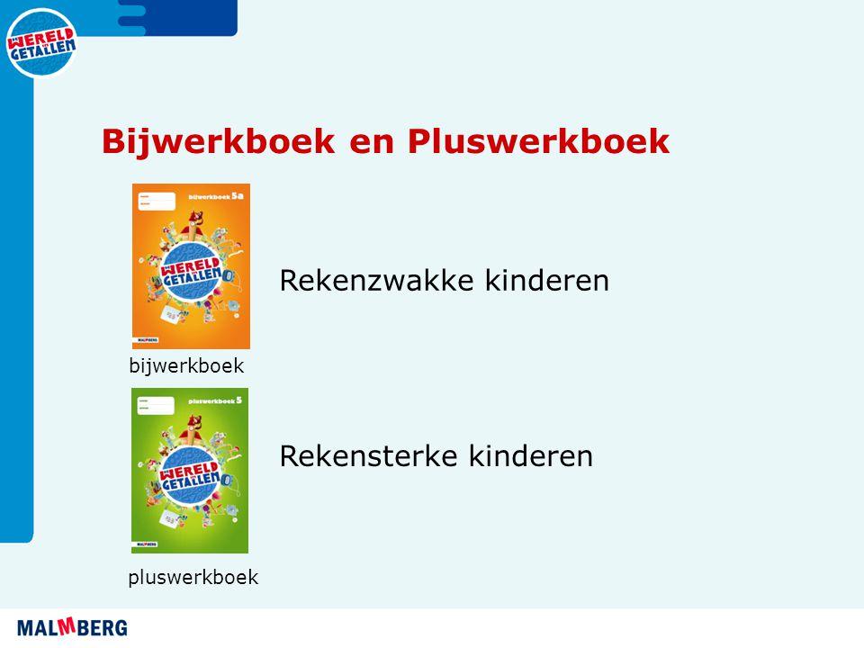 Bijwerkboek en Pluswerkboek