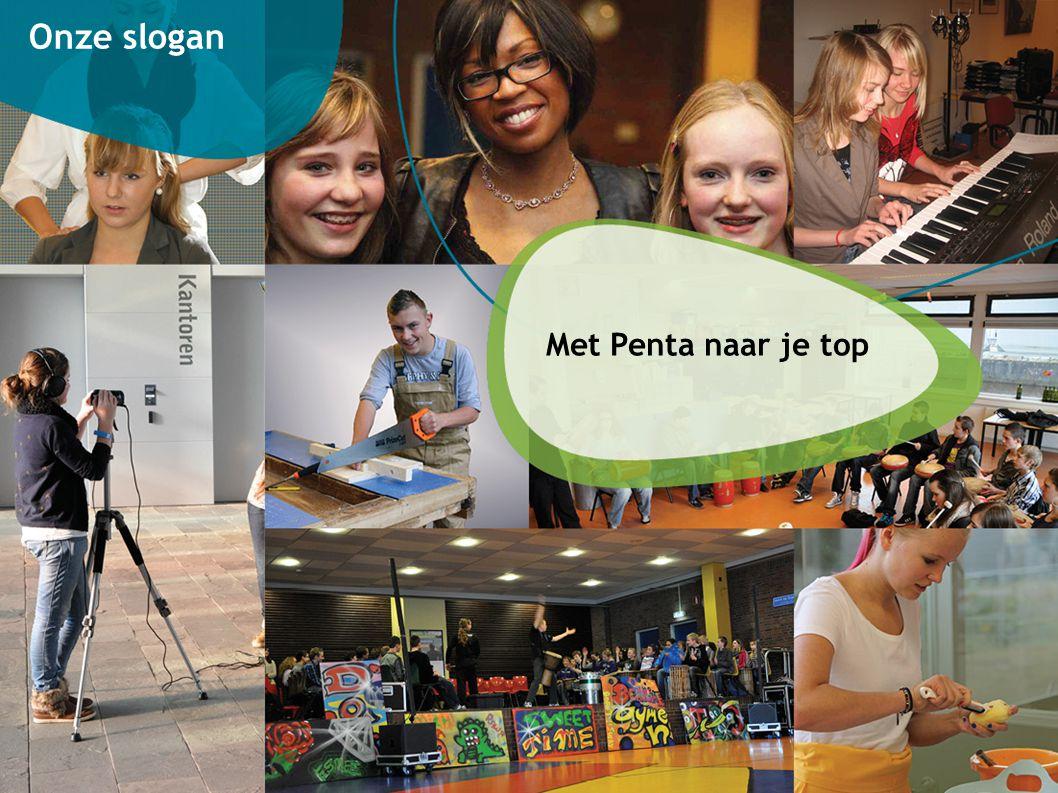 1414 Onze slogan Met Penta naar je top
