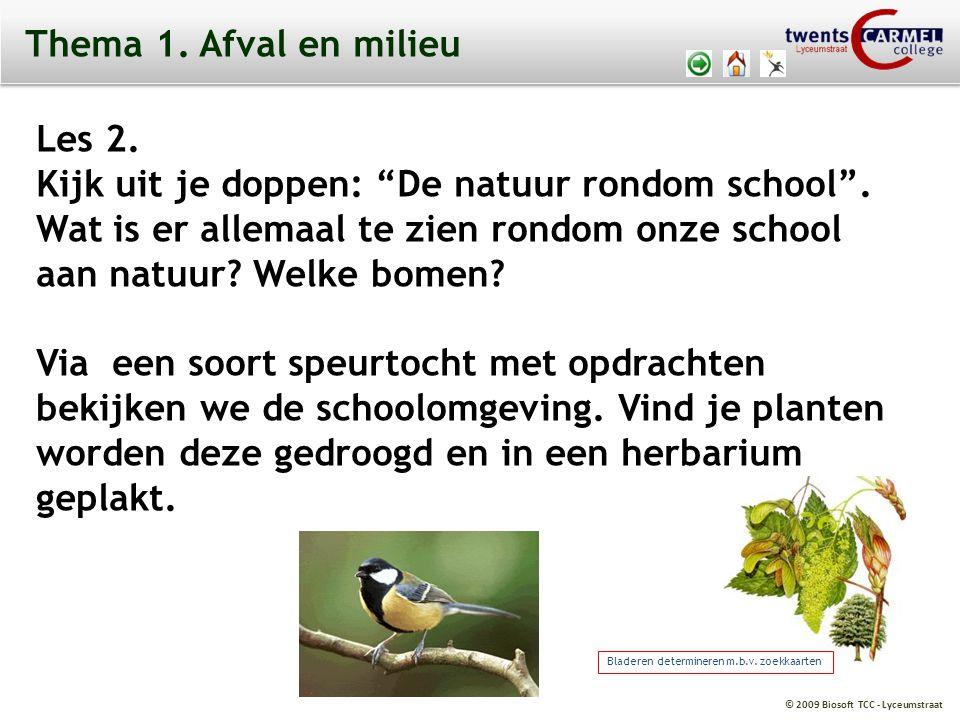 Kijk uit je doppen: De natuur rondom school .