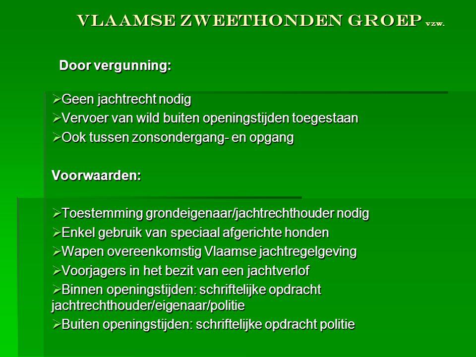 Vlaamse Zweethonden Groep vzw.
