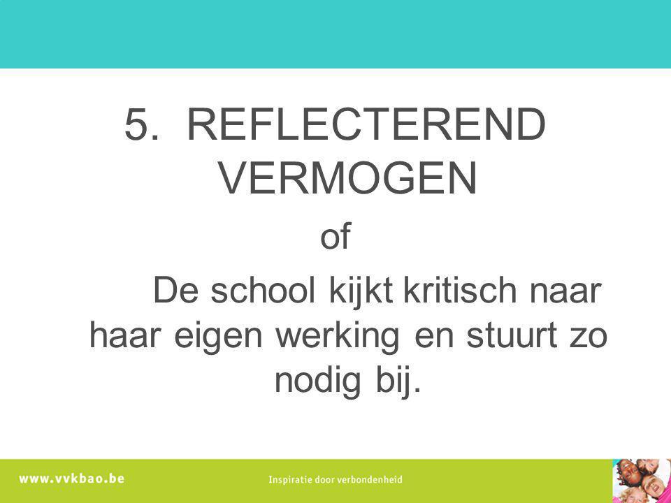 5. REFLECTEREND VERMOGEN