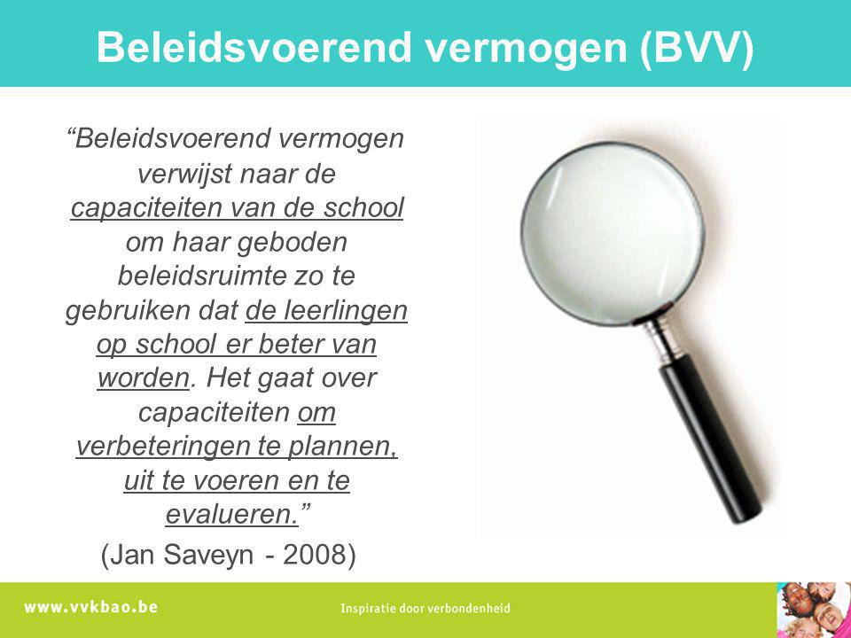 Beleidsvoerend vermogen (BVV)