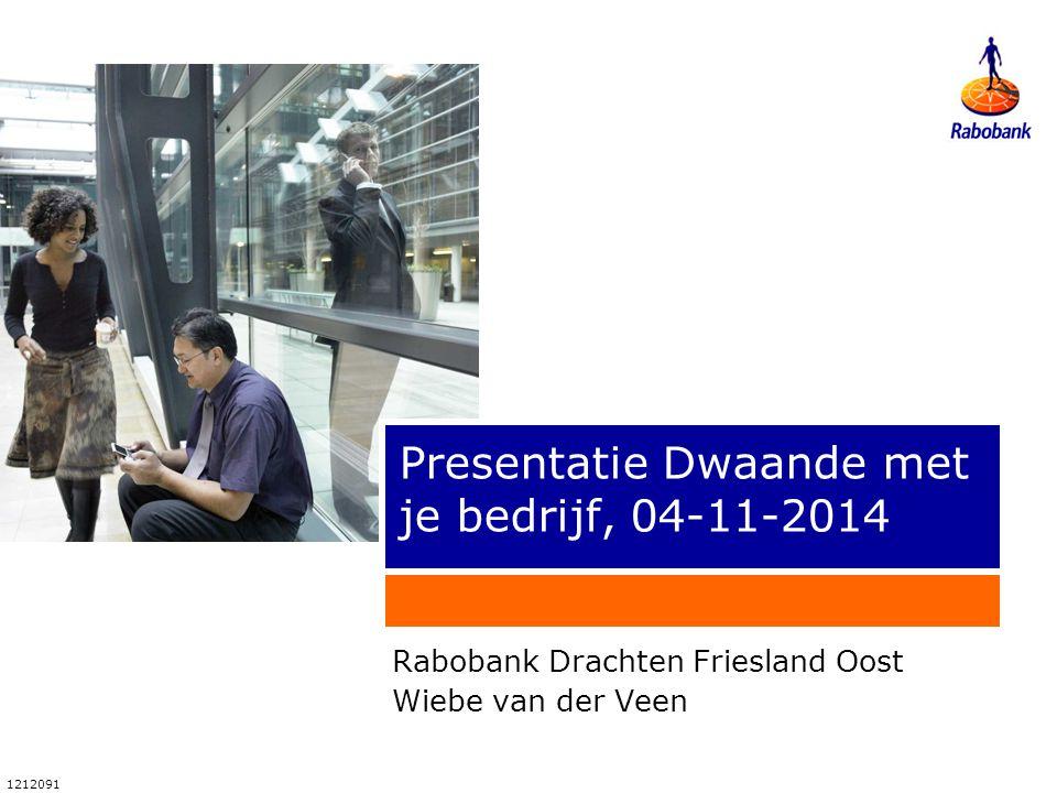 Presentatie Dwaande met je bedrijf, 04-11-2014