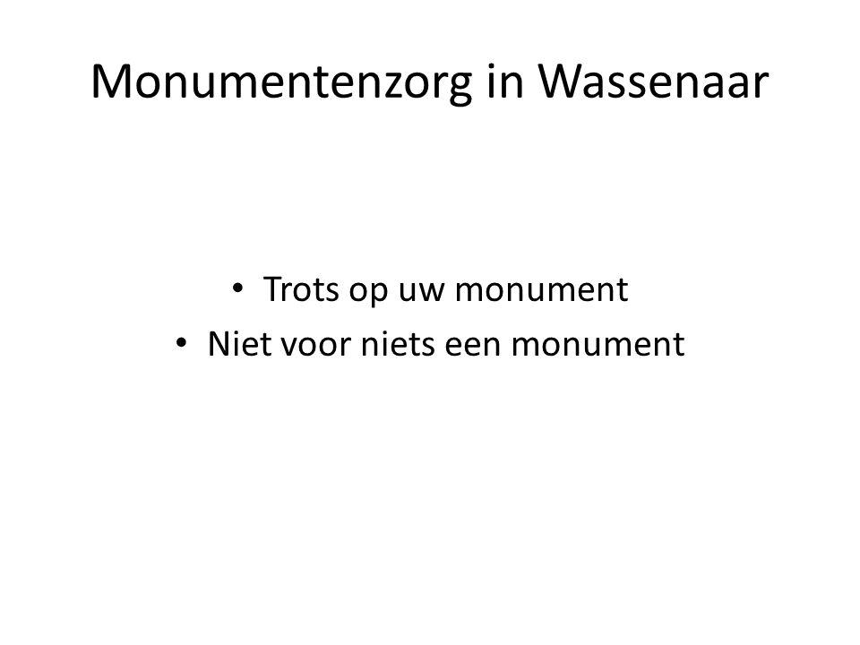 Monumentenzorg in Wassenaar