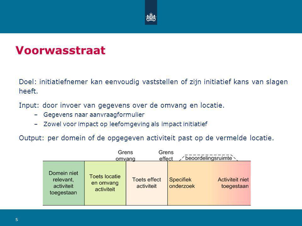 Voorwasstraat Doel: initiatiefnemer kan eenvoudig vaststellen of zijn initiatief kans van slagen heeft.