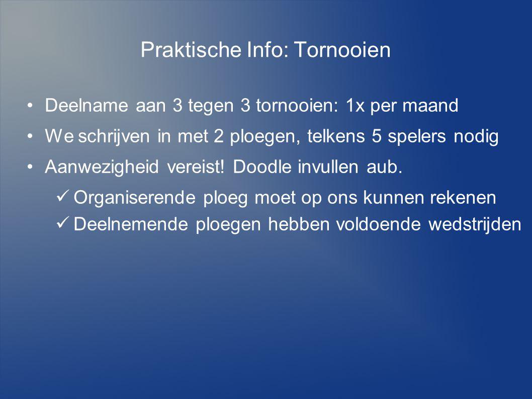 Praktische Info: Tornooien