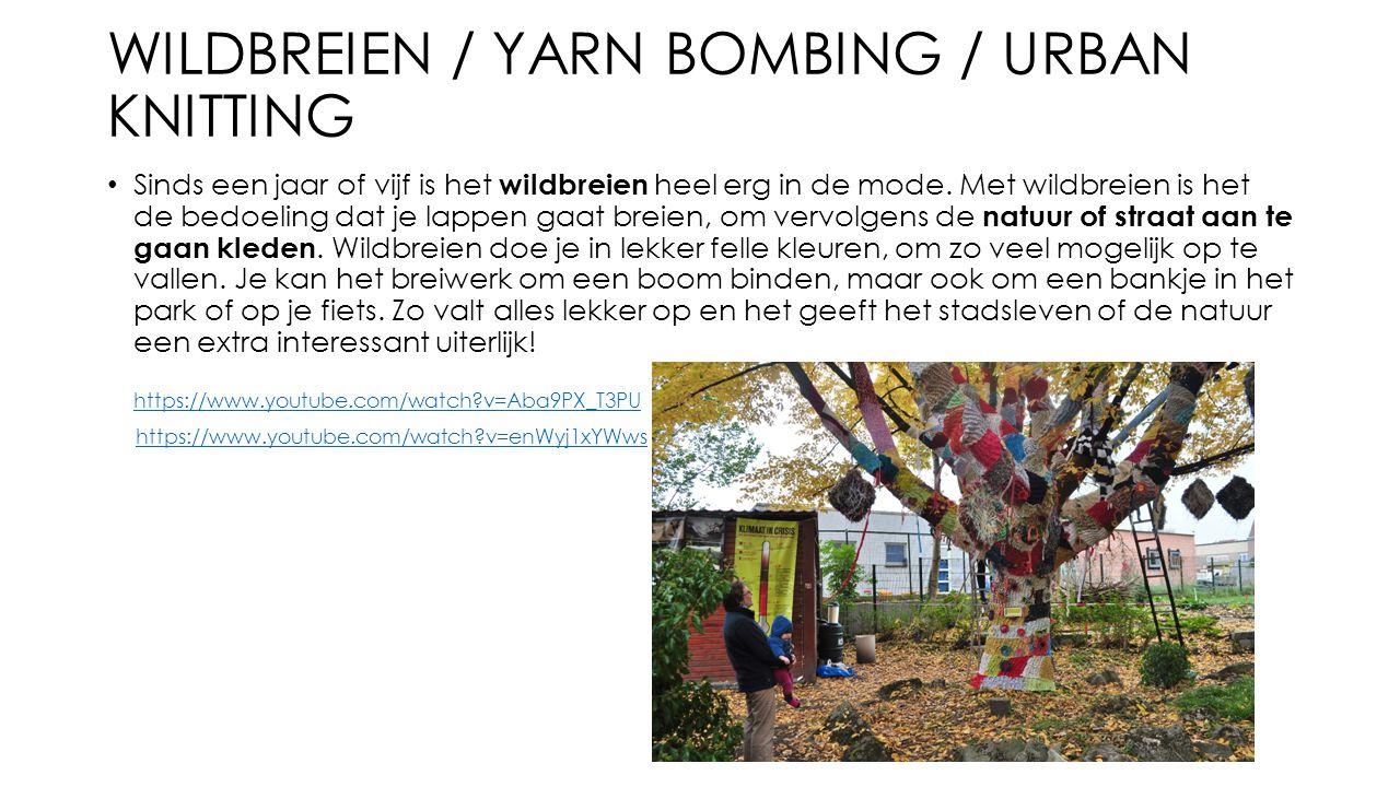 WILDBREIEN / Yarn bombing / urban knitting
