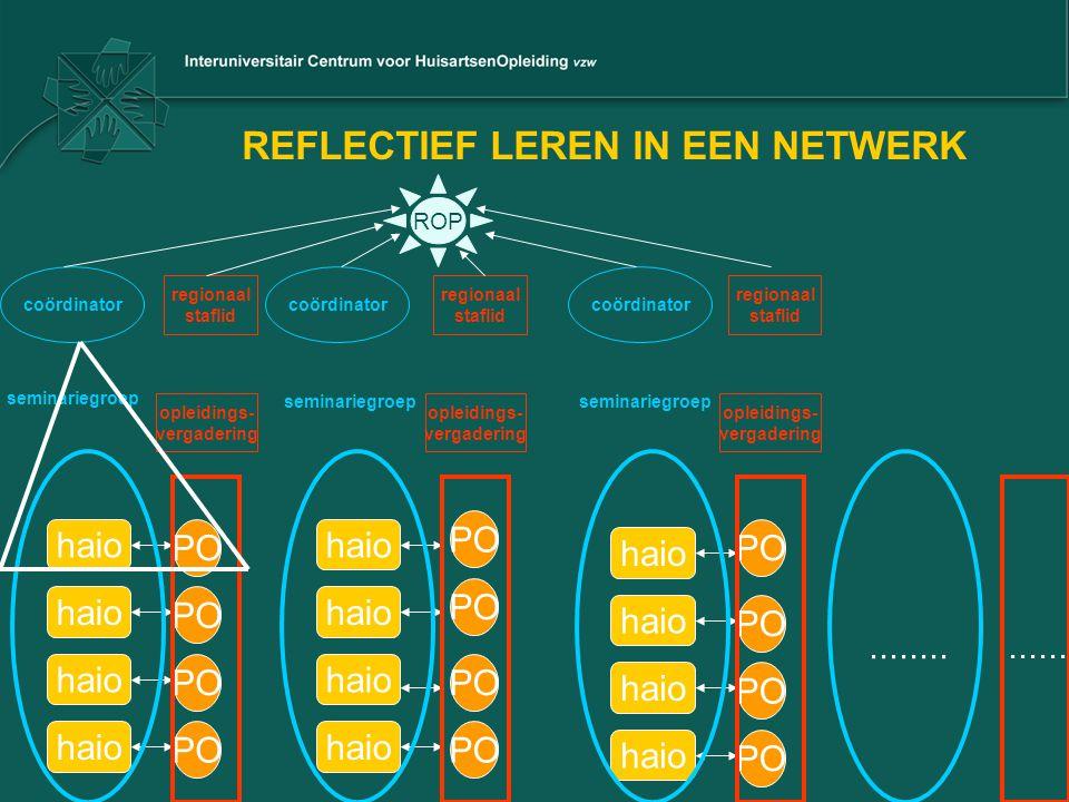REFLECTIEF LEREN IN EEN NETWERK