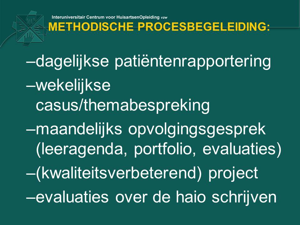 METHODISCHE PROCESBEGELEIDING:
