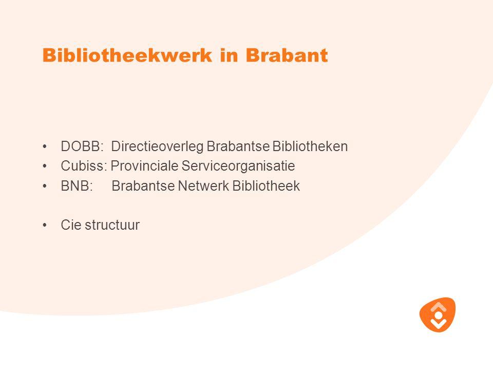 Bibliotheekwerk in Brabant