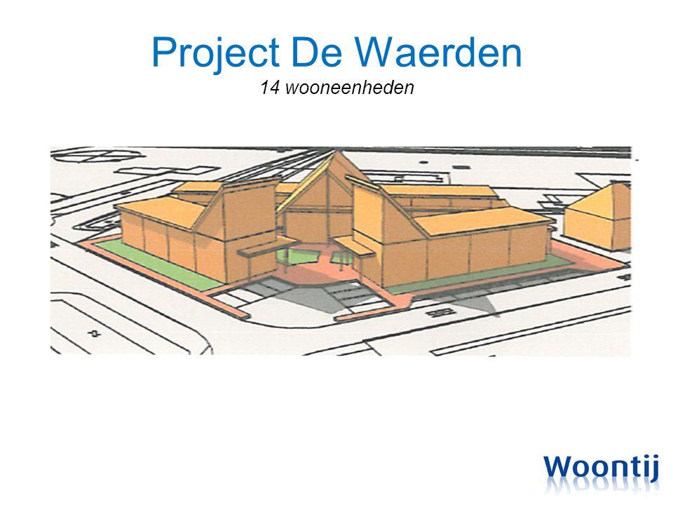 Project De Waerden 14 wooneenheden