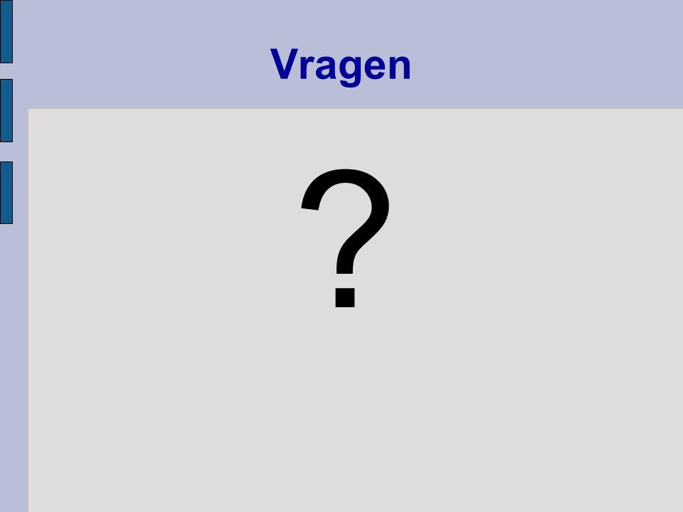 Vragen