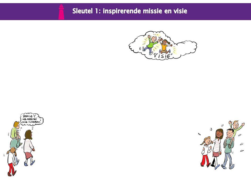 Sleutel 1: inspirerende missie en visie