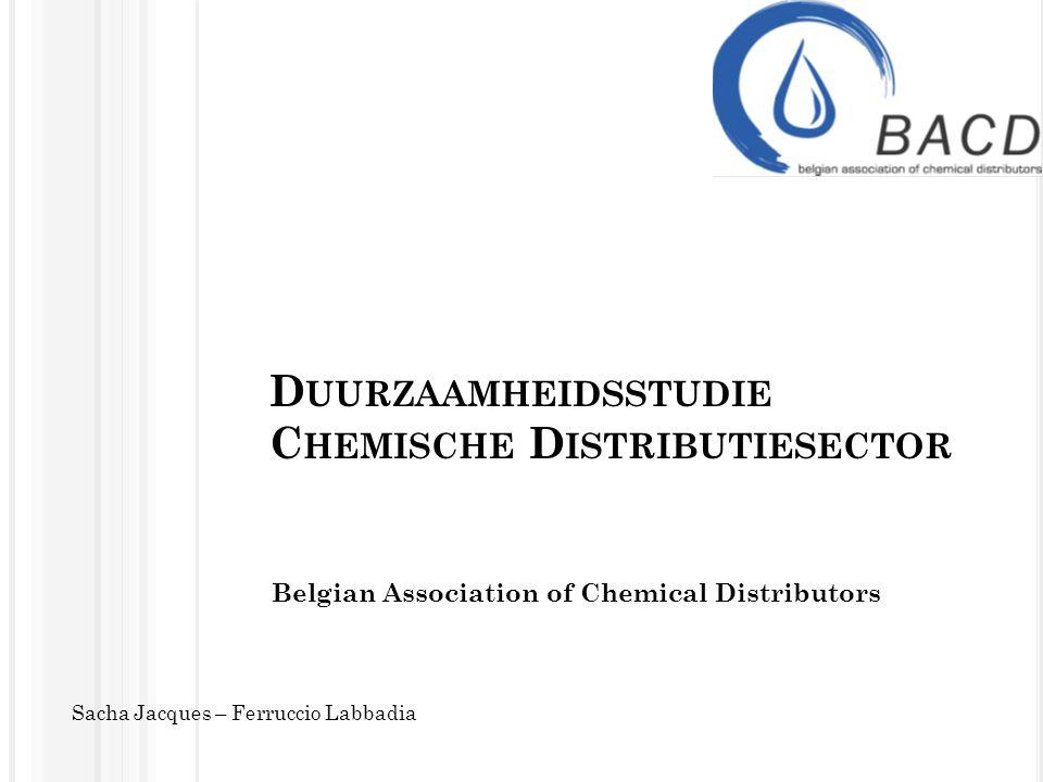 Duurzaamheidsstudie Chemische Distributiesector