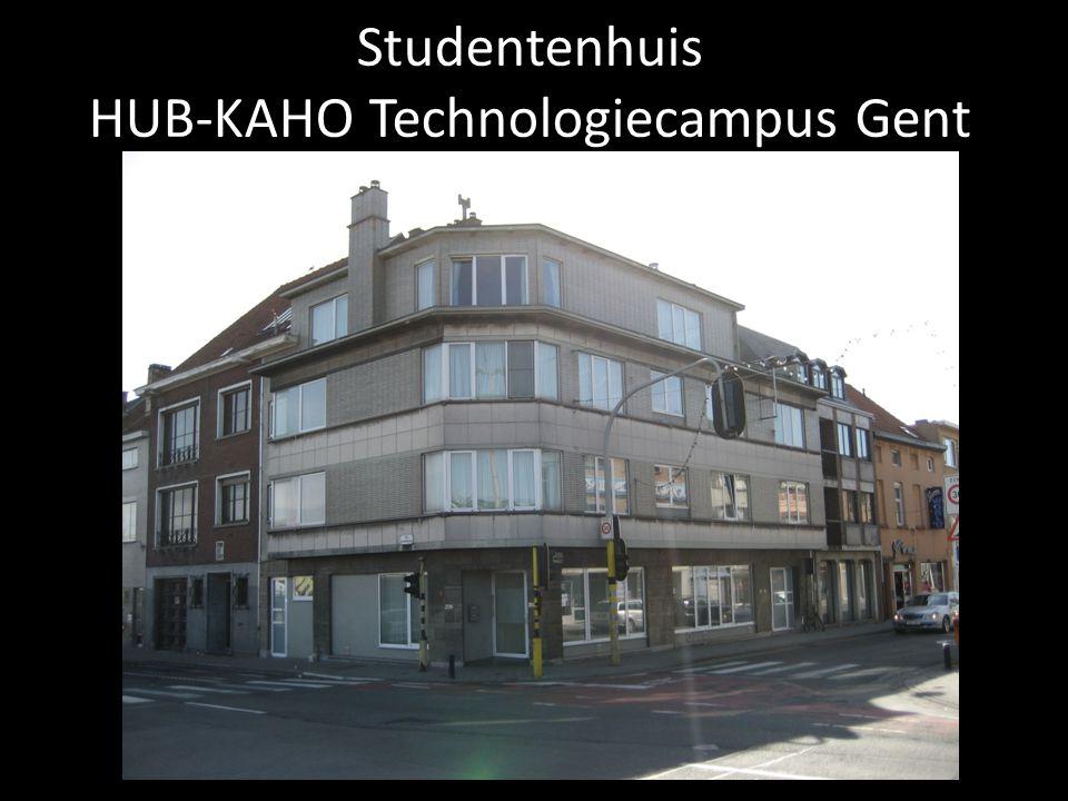 Studentenhuis HUB-KAHO Technologiecampus Gent