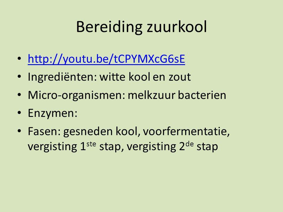 Bereiding zuurkool http://youtu.be/tCPYMXcG6sE
