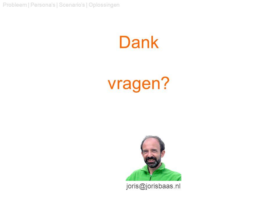 Dank vragen joris@jorisbaas.nl