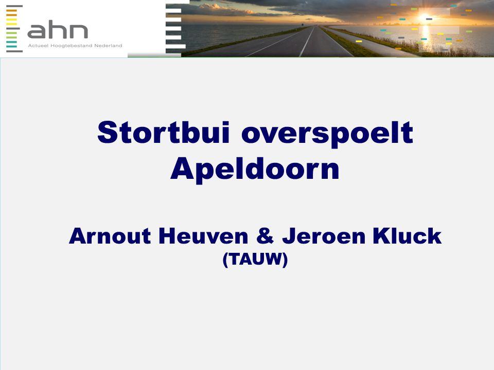 Stortbui overspoelt Apeldoorn Arnout Heuven & Jeroen Kluck (TAUW)