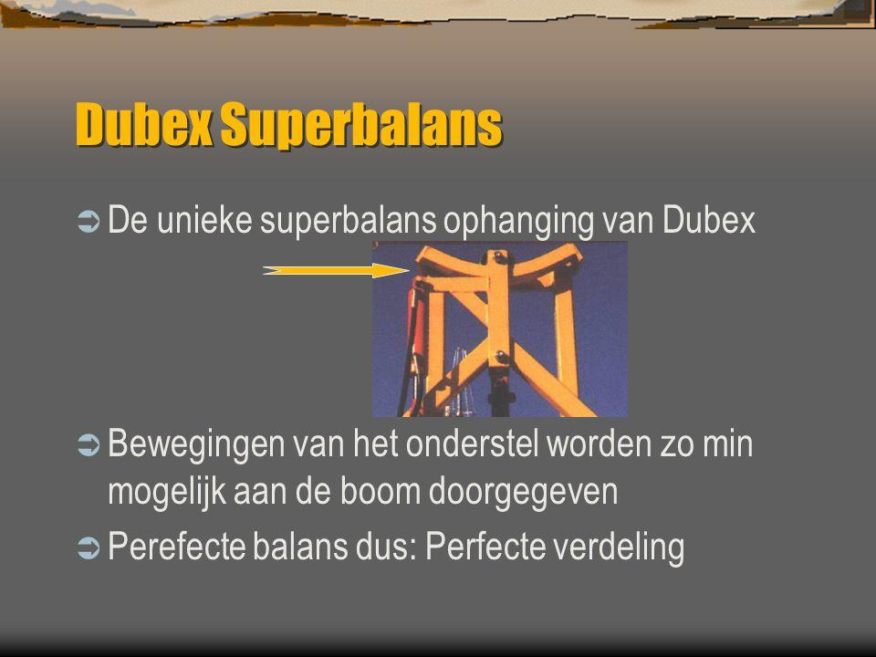 Dubex Superbalans De unieke superbalans ophanging van Dubex