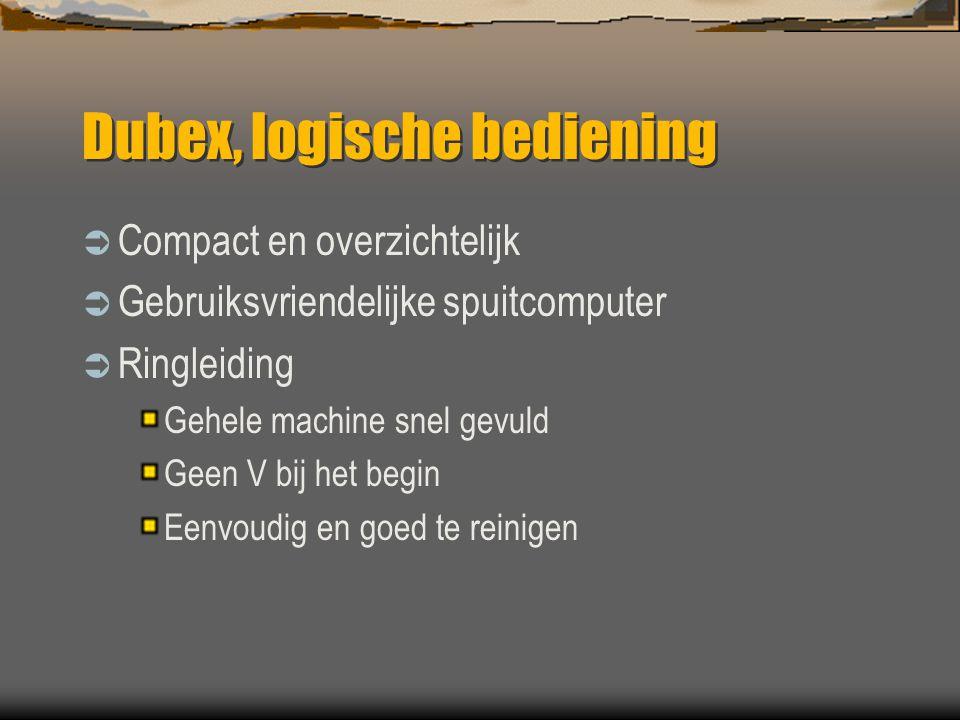 Dubex, logische bediening