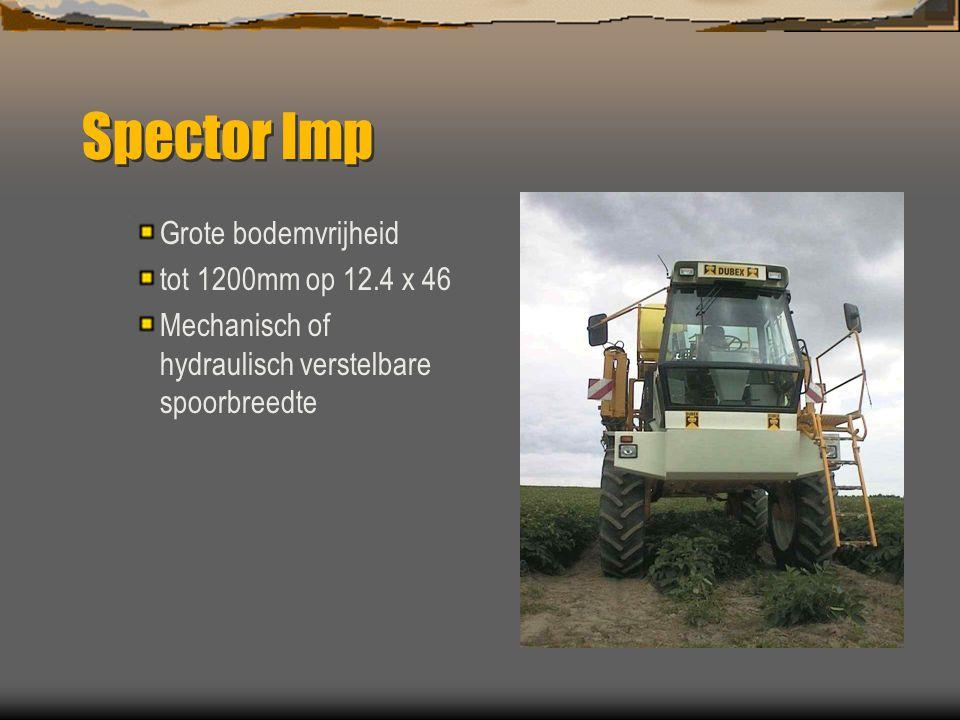 Spector Imp Grote bodemvrijheid tot 1200mm op 12.4 x 46