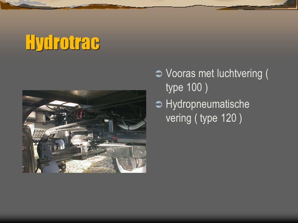 Hydrotrac Vooras met luchtvering ( type 100 )