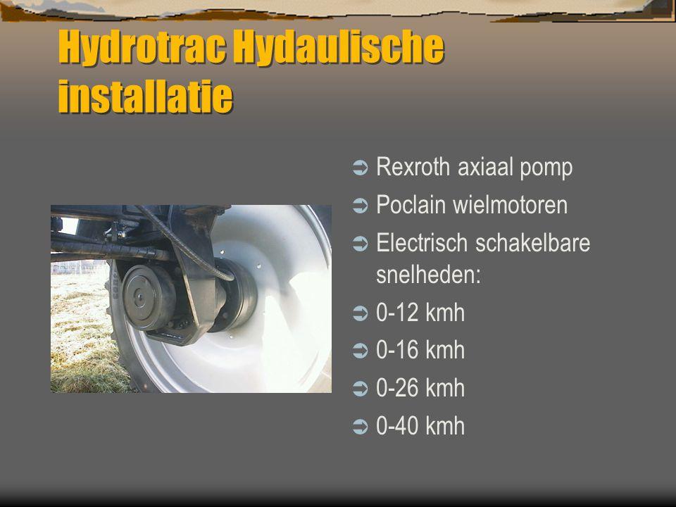 Hydrotrac Hydaulische installatie