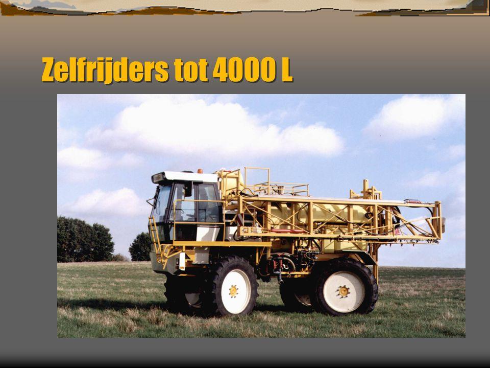 Zelfrijders tot 4000 L