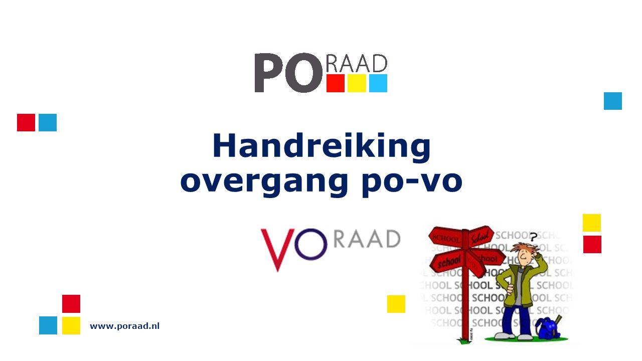 Handreiking overgang po-vo