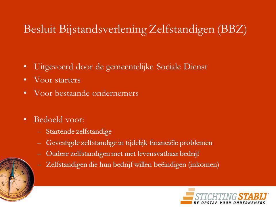 Besluit Bijstandsverlening Zelfstandigen (BBZ)
