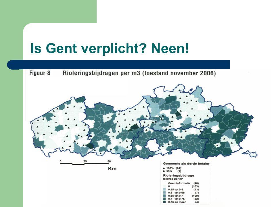 Is Gent verplicht Neen!