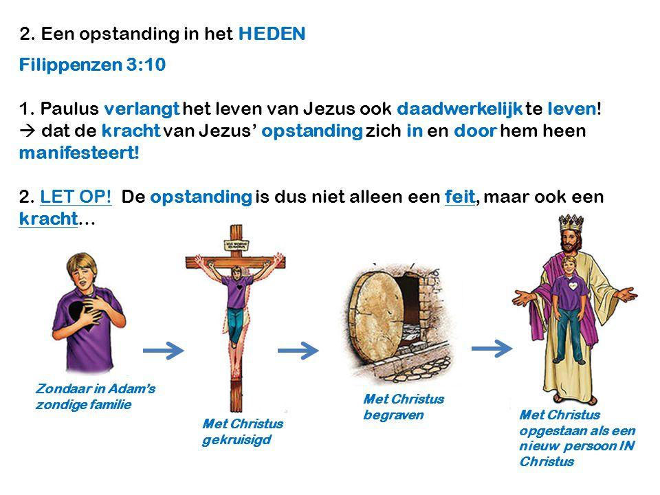 2. Een opstanding in het HEDEN