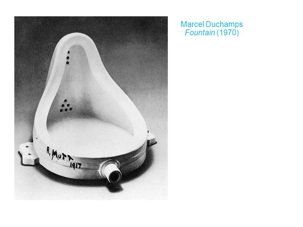 Marcel Duchamps Fountain (1970)‏