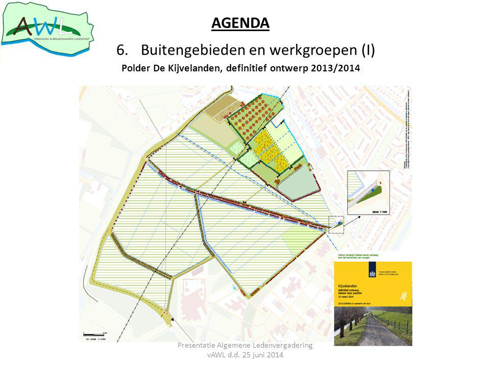 Polder De Kijvelanden, definitief ontwerp 2013/2014