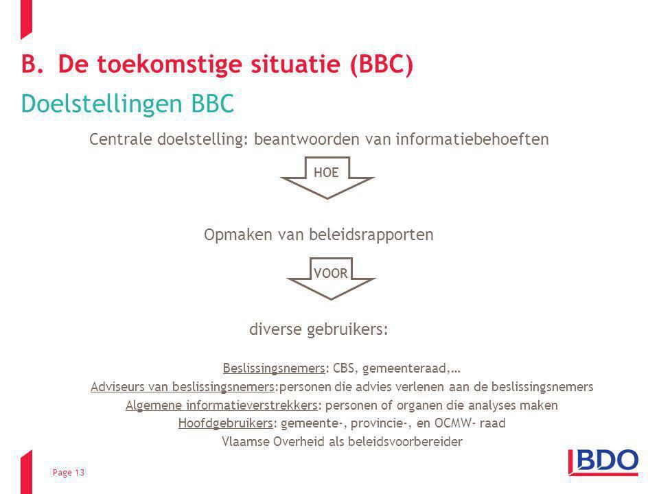 De toekomstige situatie (BBC)