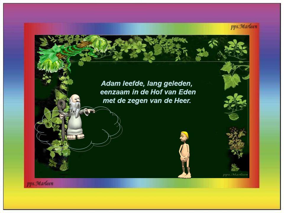 Adam leefde, lang geleden,