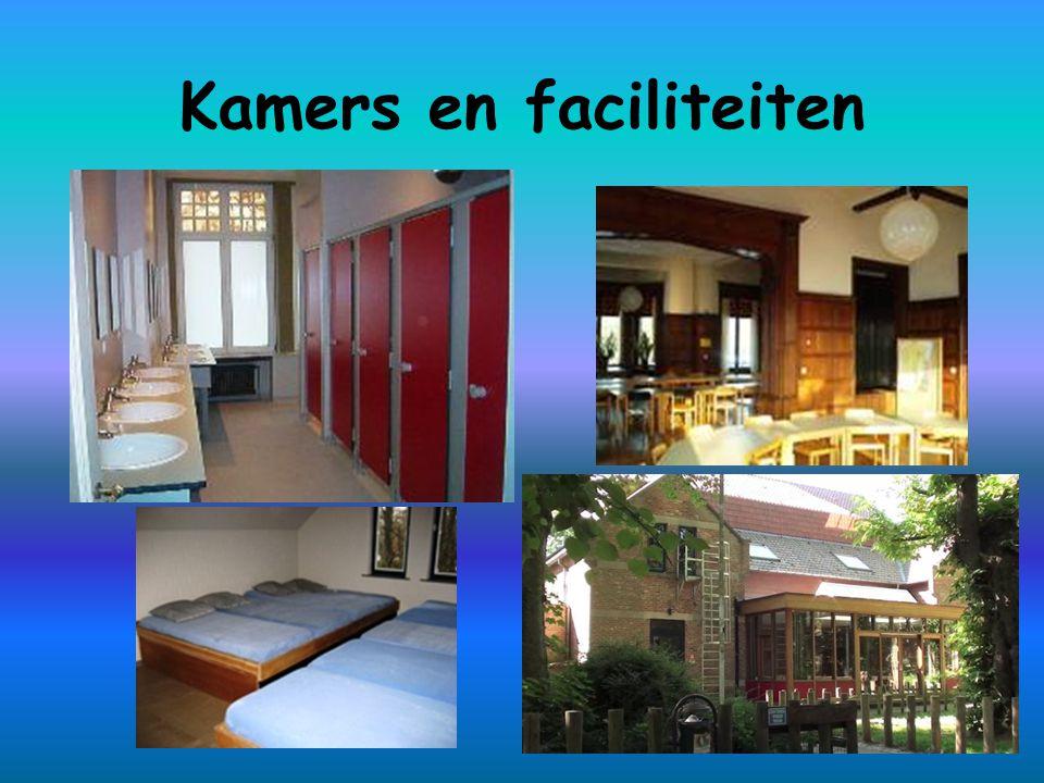 Kamers en faciliteiten