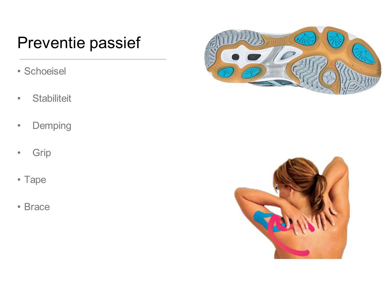 Preventie passief Schoeisel Stabiliteit Demping Grip Tape Brace