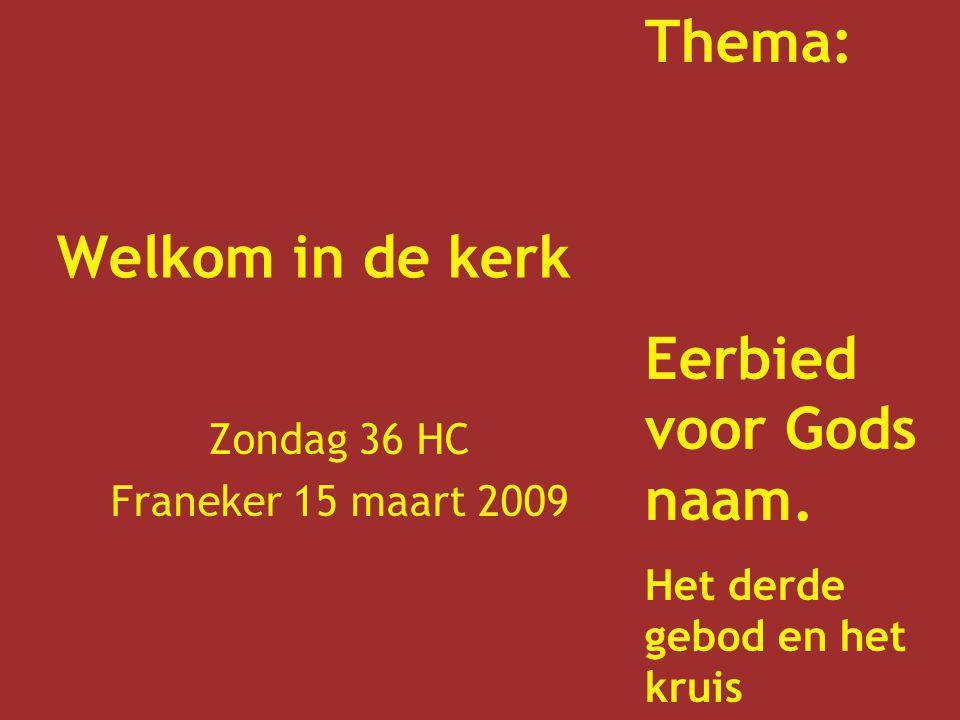 Zondag 36 HC Franeker 15 maart 2009