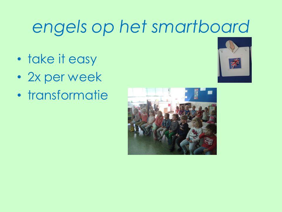engels op het smartboard