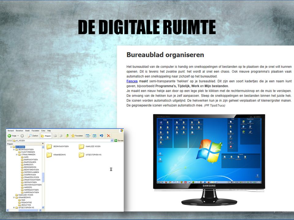 DE DIGITALE RUIMTE