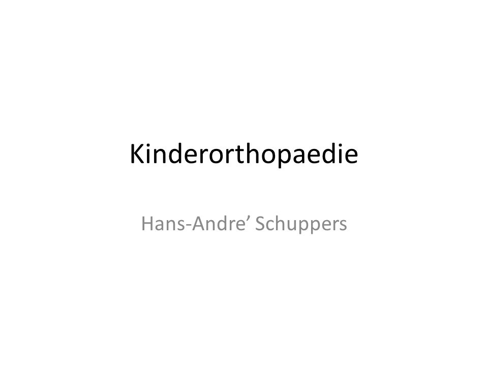 Hans-Andre' Schuppers