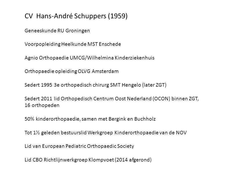 CV Hans-André Schuppers (1959)