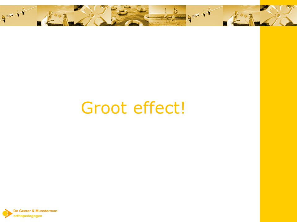 Groot effect!