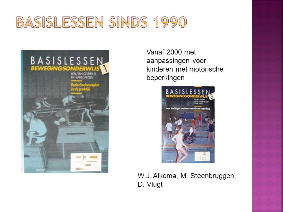 Basislessen Sinds 1990 Vanaf 2000 met aanpassingen voor kinderen met motorische beperkingen.