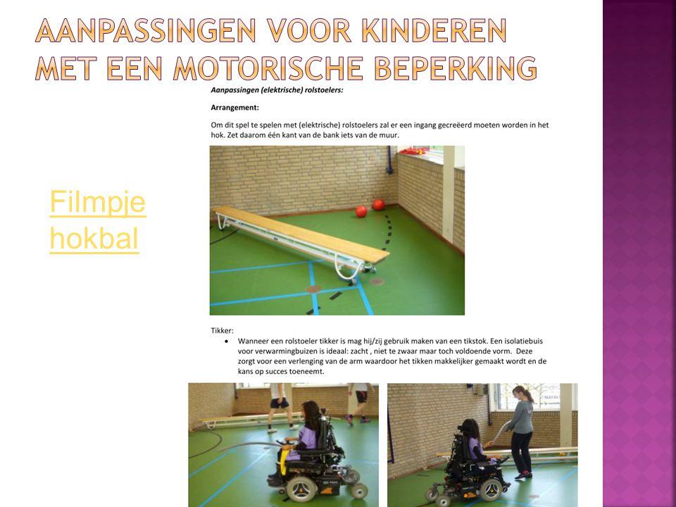 Aanpassingen voor kinderen met een motorische beperking