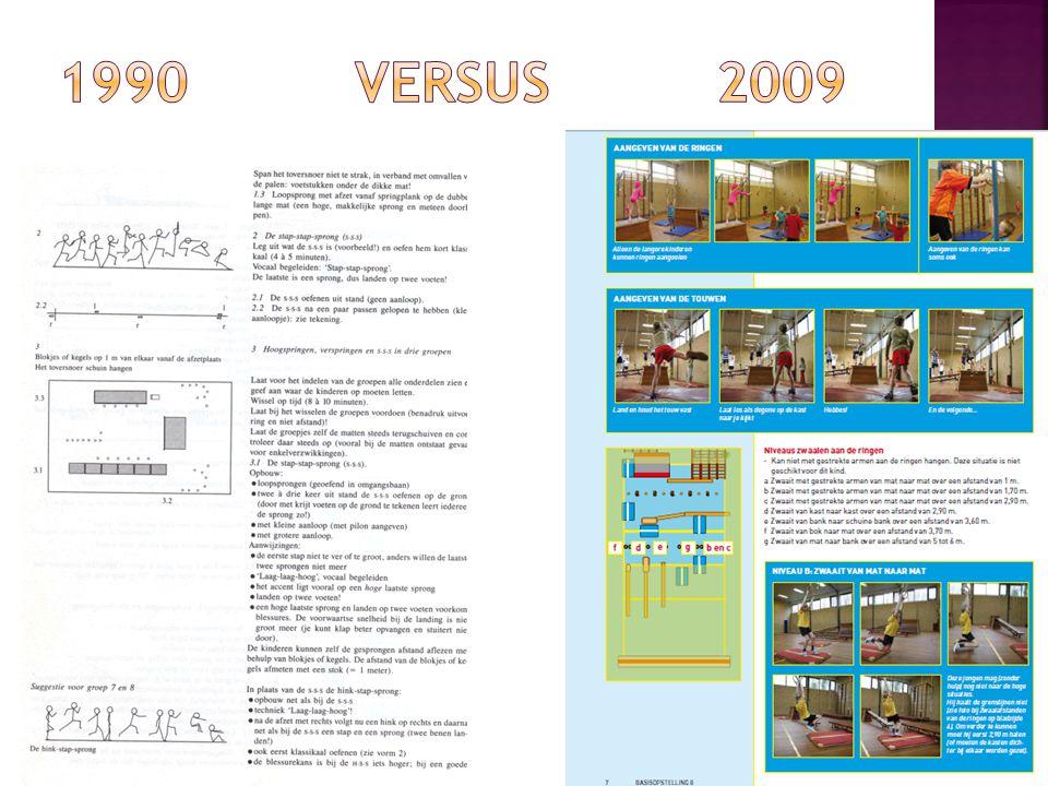 1990 versus 2009