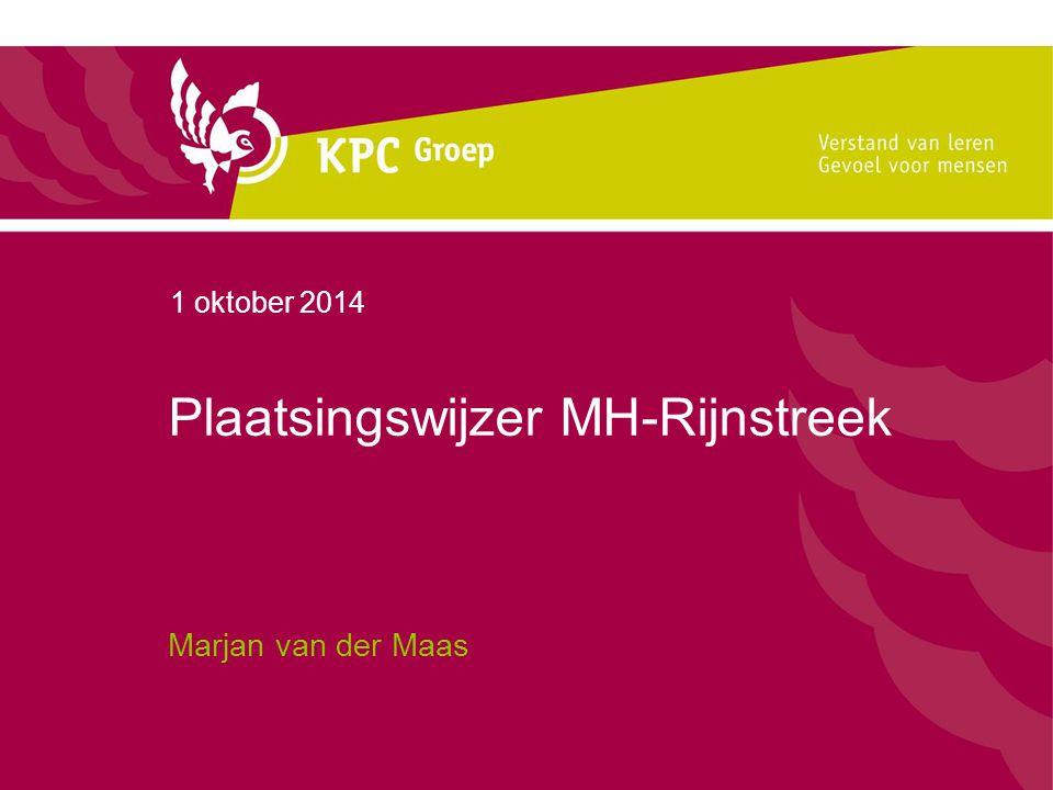 Plaatsingswijzer MH-Rijnstreek