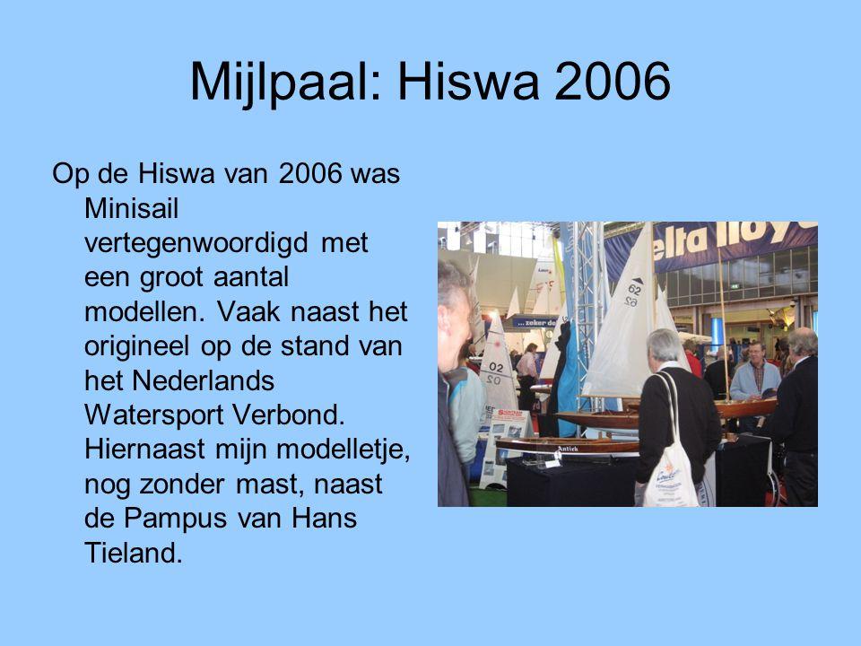 Mijlpaal: Hiswa 2006