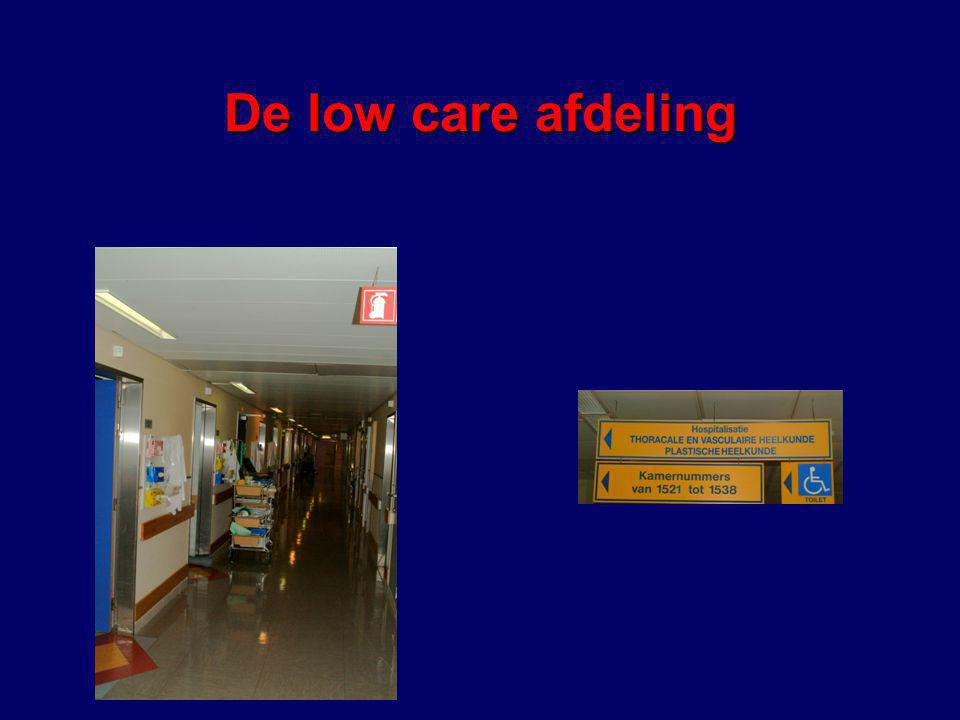 De low care afdeling